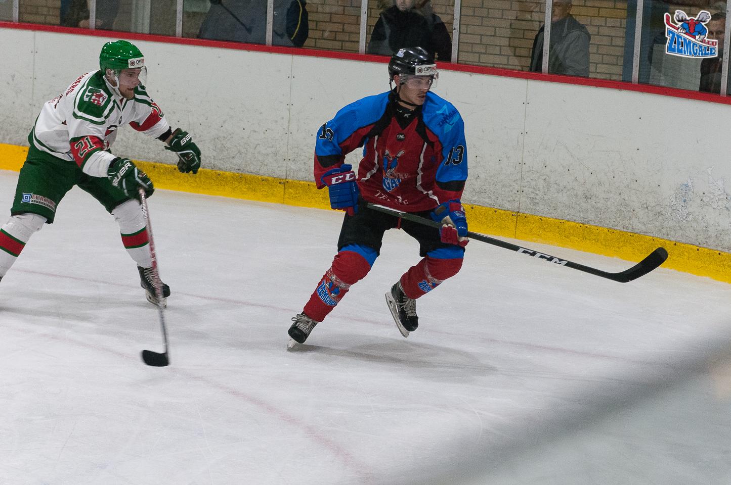 Optibet hokeja līgas spēle starp Zemgale/LLU un Liepāja/Optibet Jelgava ledus hallē 2017. gada 01. novembrī.