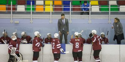 Latvija – Polija sieviešu izlašu pārbaudes spēle Valmierā Foto: Edgars Vaivads/Vidzemes Olimpiskais centrs