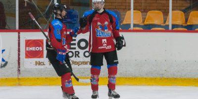 """Latvijas bērnu un jauniešu čempionāta spēle starp """"JLSS U18"""" un """"DKLRM"""" Jelgavas ledus hallē Jelgavā 2018. gada 04. janvārī."""
