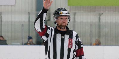 """Optibet hokeja līgas izslēgšanas kārtas otrā spēle starp """"Mogo"""" un """"Zemgale/LLU"""", Mogo ledus hallē, Rīgā, 2018. gada 25. februārī. Zviedr"""