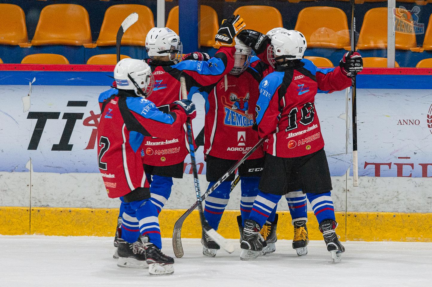 Jelgavas hokeja skola JLSS U11 A - Liepāja SSS 2010 LBJČH 13102019-08