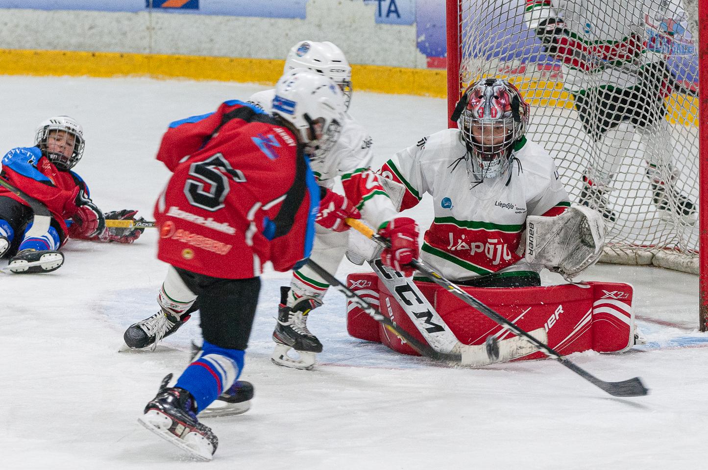 Jelgavas hokeja skola JLSS U11 A - Liepāja SSS 2010 LBJČH 13102019-11