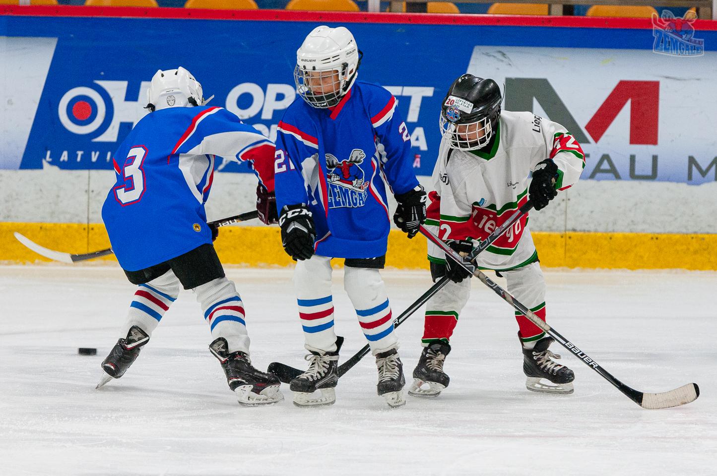 Jelgavas hokeja skola JLSS U11 B - Liepāja SSS LBJČH 22092019-19