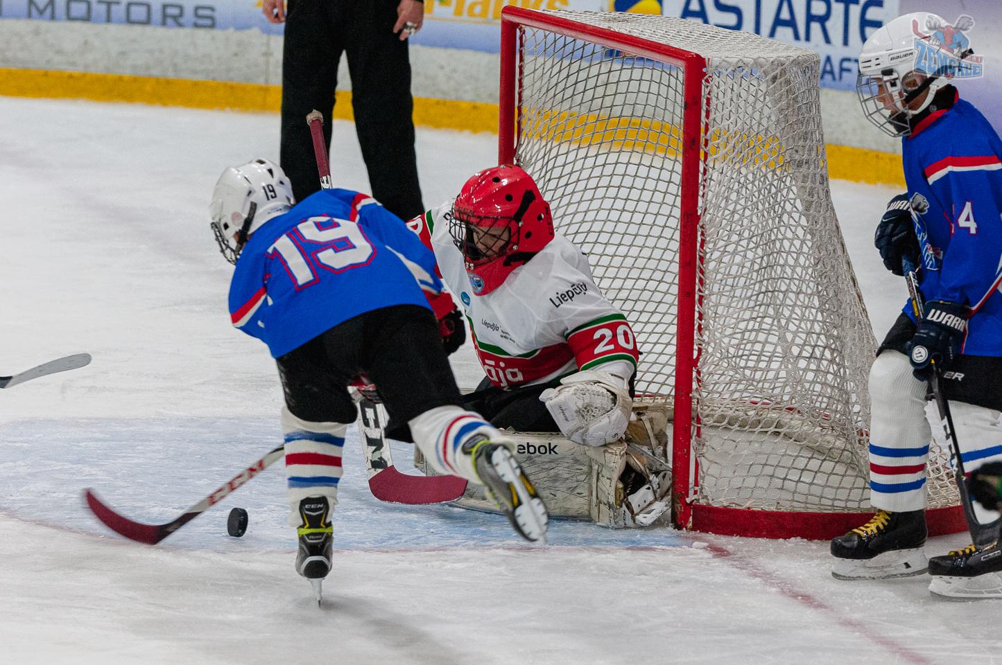 Jelgavas hokeja skola JLSS U11 B - Liepāja SSS LBJČH 22092019-09