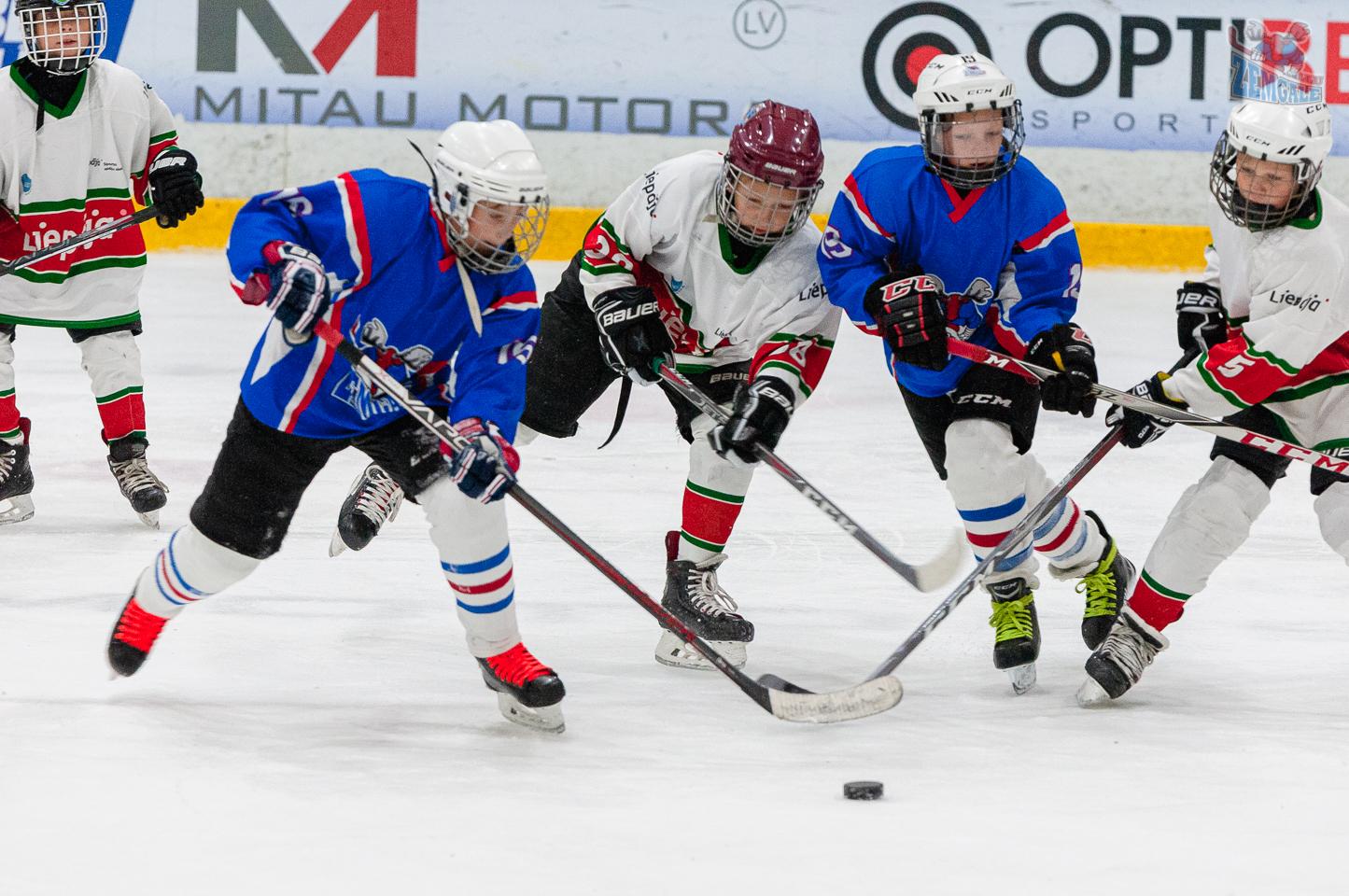 Jelgavas hokeja skola JLSS U11 B - Liepāja SSS LBJČH 22092019-03