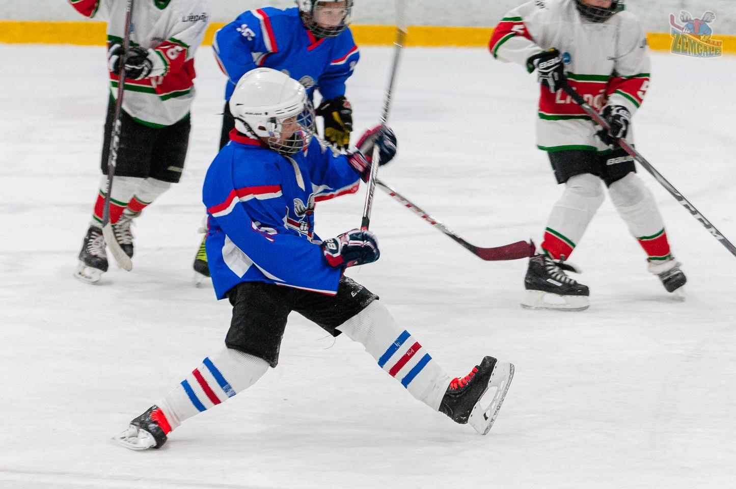 Jelgavas hokeja skola JLSS U11 B - Liepāja SSS LBJČH 22092019-02