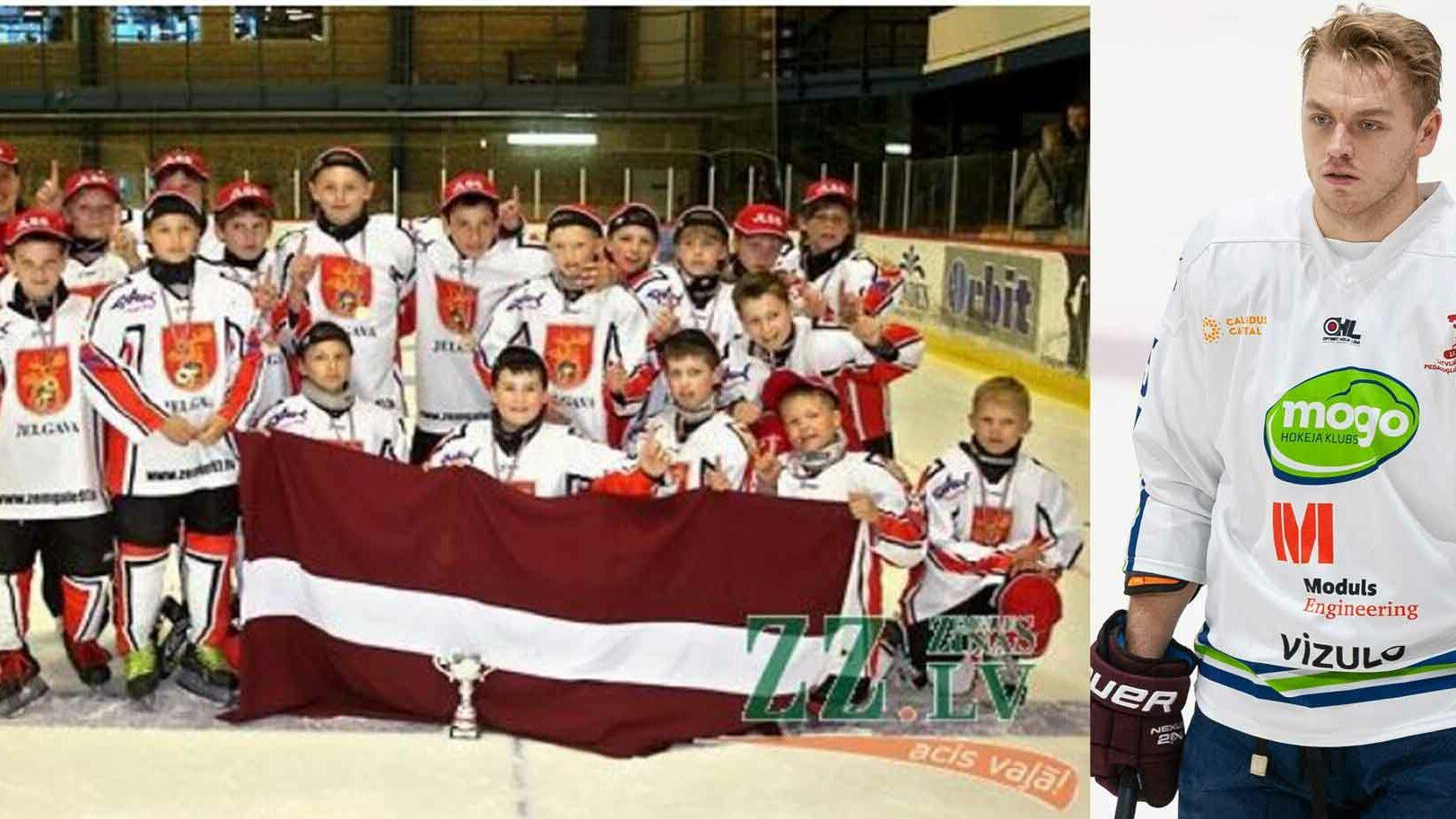 hokejista bērnības foto